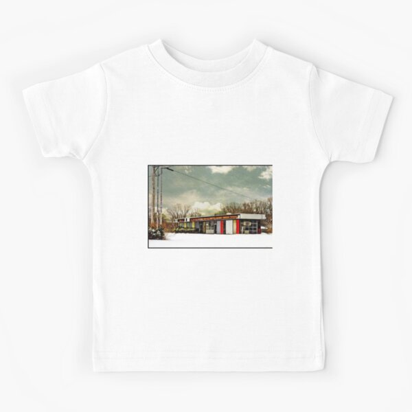 I-90 2-27-08 7:44 AM NEW YORK Kids T-Shirt