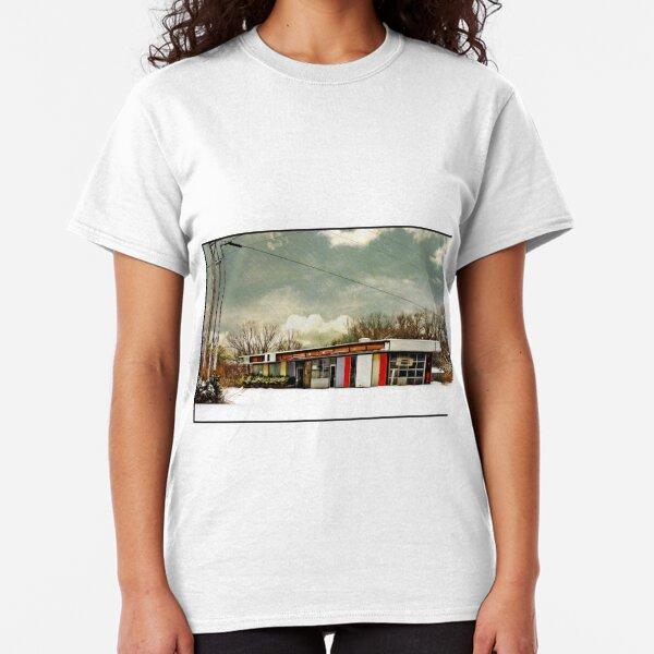 I-90 2-27-08 7:44 AM NEW YORK Classic T-Shirt