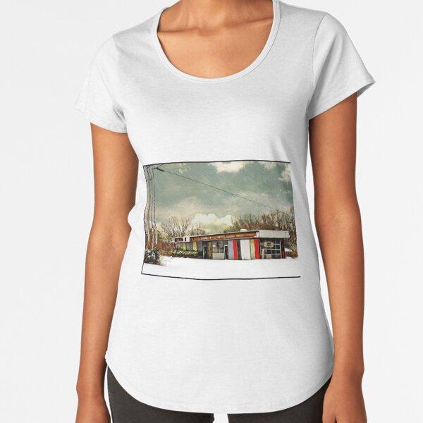 I-90 2-27-08 7:44 AM NEW YORK Premium Scoop T-Shirt