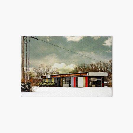 I-90 2-27-08 7:44 AM NEW YORK Art Board Print