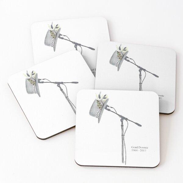 Gord Downie Coasters (Set of 4)