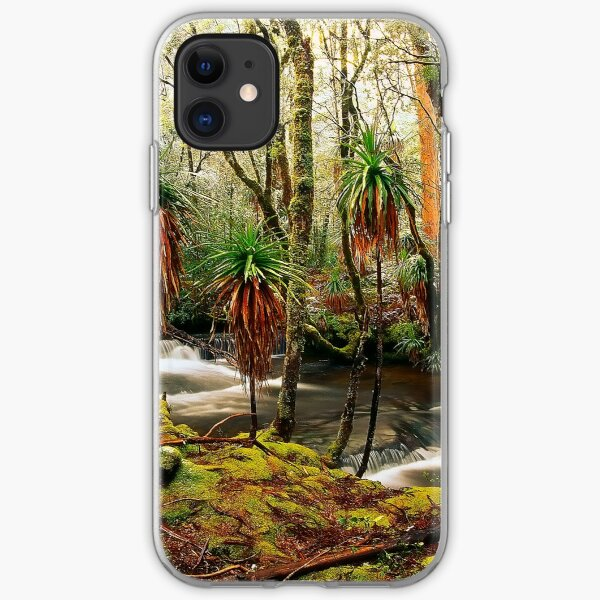Winter in Pine Valley iPhone Soft Case