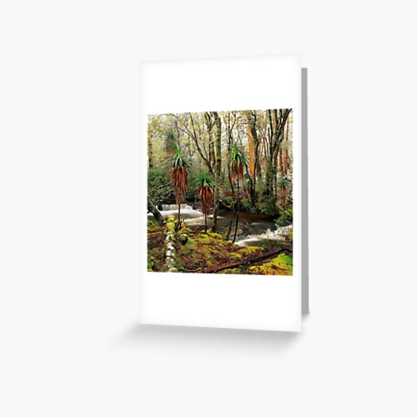 Winter in Pine Valley Greeting Card