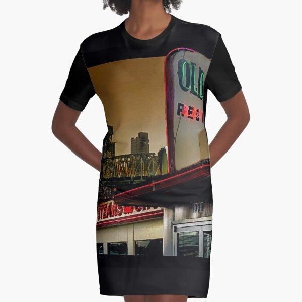 Arkansas Graphic T-Shirt Dress