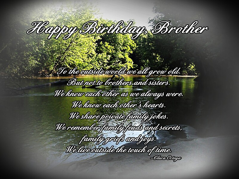 Brother Birthday Greeting Cards by Greeting Cards by Tracy DeVore