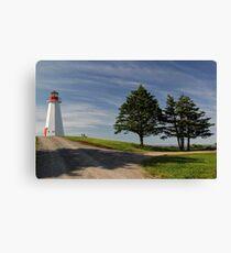 Cape George Lighthouse, Cape George, Nova Scotia Canvas Print