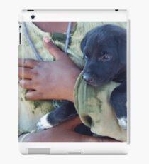 Puppy - Mahabalipuram, India iPad Case/Skin