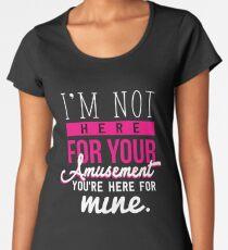 Power Women Girl Feminist Amusement Female Gift Women's Premium T-Shirt