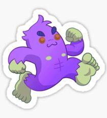 Cryptid Friends - Bigfoot! Sticker