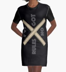 I've got no rules Graphic T-Shirt Dress
