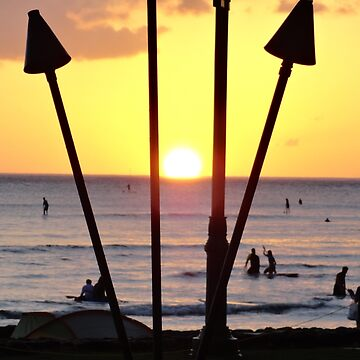 Torched Sunset by bobmeyers