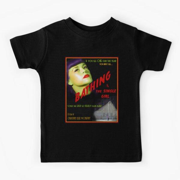 Bathing & the Single Girl Poster  Kids T-Shirt