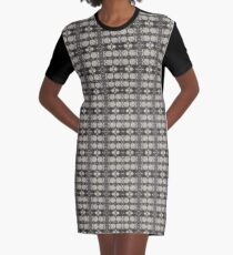 henry viii on repeat (charcoal) Graphic T-Shirt Dress
