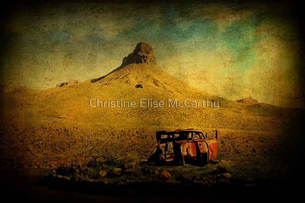 Car Trouble Outside Oatman by Christine Elise McCarthy