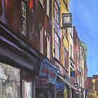 Soho, Berwick Street by Andrew Reid Wildman