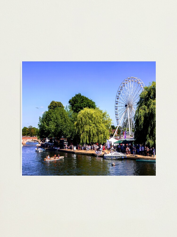 Alternate view of River festival. Photographic Print