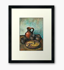 Bread & Wine Framed Print