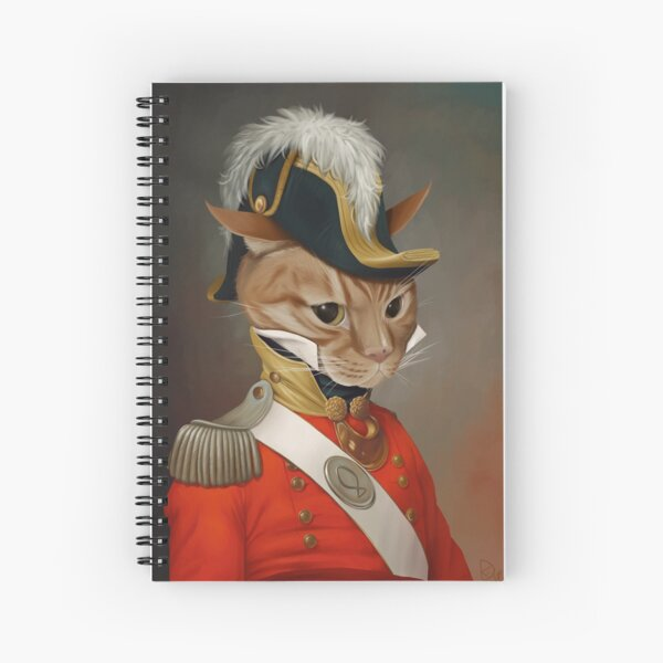 Sir Comet Thelonious, esq Spiral Notebook