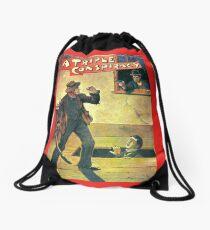 Pulp Fiction Novel Cover Drawstring Bag