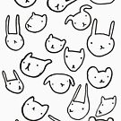 animals  by Cat Bruce