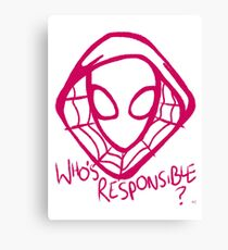 Who's Responsible? Canvas Print