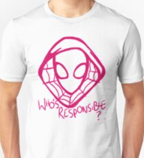 Who's Responsible? Unisex T-Shirt