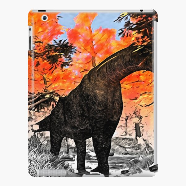 Apatosaurus in the woods iPad Snap Case