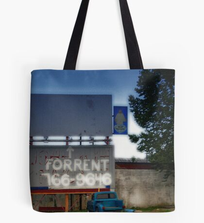 Heavenly Advertising Tote Bag