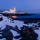 Nubble Light by Peter Clarke