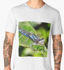 Cool blue true damselfly  Men's Premium T-Shirt