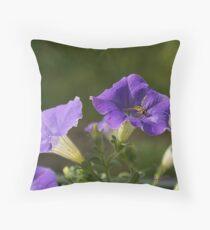 Surfinia Wasp  Throw Pillow