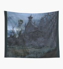 HAUNTED STEAMPUNK STYLE Wall Tapestry