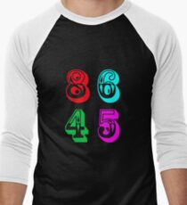 86 45 - Impeach Trump Men's Baseball ¾ T-Shirt