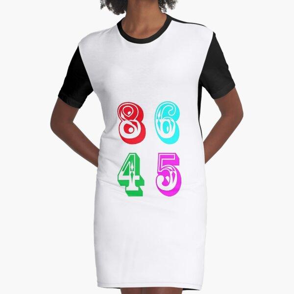 86 45 - Impeach Trump Graphic T-Shirt Dress
