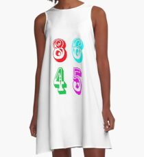 86 45 - Impeach Trump A-Line Dress