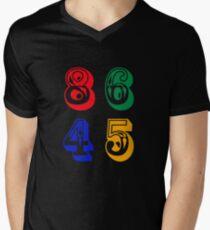 86 45 - IMPEACH TRUMP Men's V-Neck T-Shirt