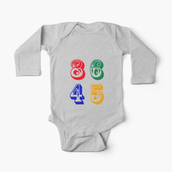 86 45 - IMPEACH TRUMP Long Sleeve Baby One-Piece