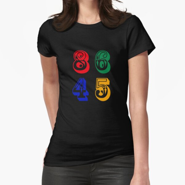 86 45 - IMPEACH TRUMP Fitted T-Shirt