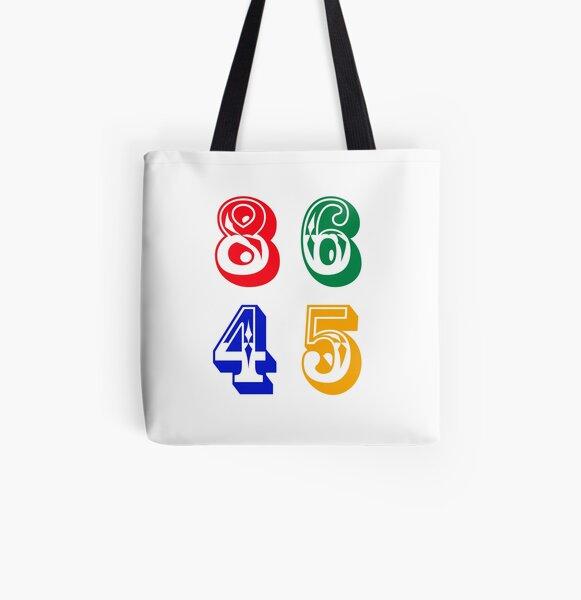 86 45 - IMPEACH TRUMP All Over Print Tote Bag