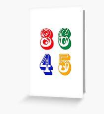 86 45 - IMPEACH TRUMP Greeting Card