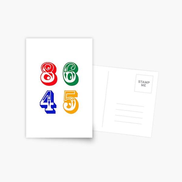 86 45 - IMPEACH TRUMP Postcard