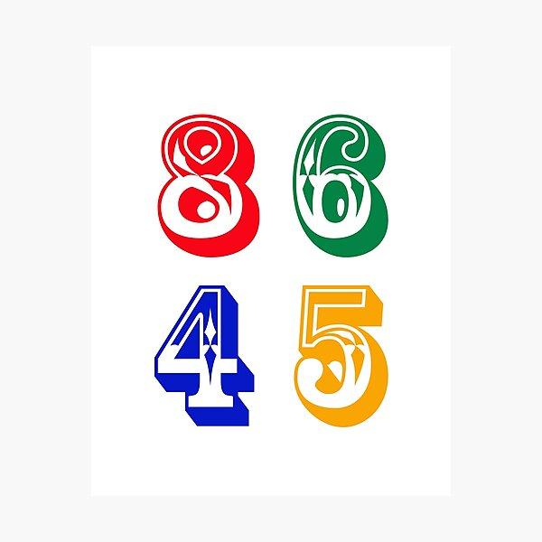 86 45 - IMPEACH TRUMP Photographic Print