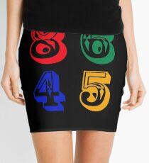 86 45 - IMPEACH TRUMP Mini Skirt