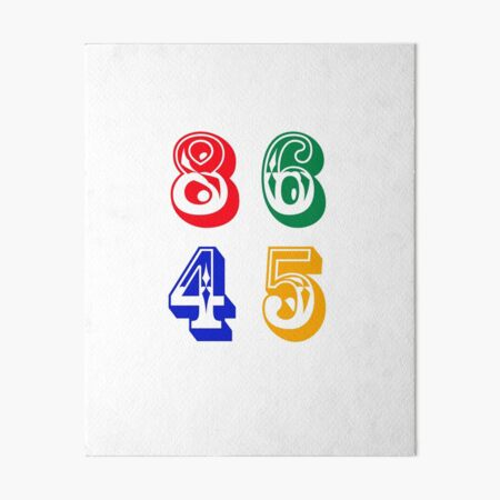 86 45 - IMPEACH TRUMP Art Board Print