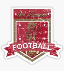 SAN FRANCISCO FOOTBALL - DISTRESSED DESIGN WITH A MINER Sticker