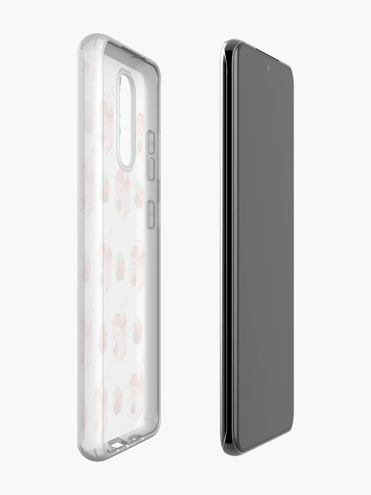 Alternate view of Strawberry Milk Case & Skin for Samsung Galaxy