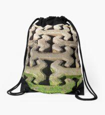 Interlocking Blocks Drawstring Bag