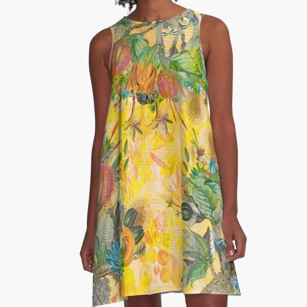 Organic Heart A-Line Dress