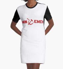 Minutemen Graphic T-Shirt Dress