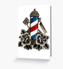 Barber's Life Greeting Card